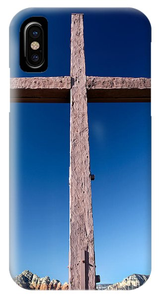Mountain Cross IPhone Case
