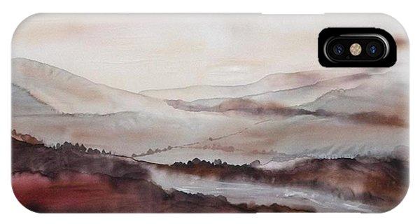 Mountain Dawn IPhone Case