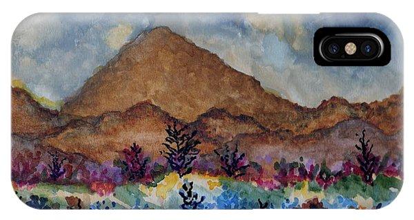 Mountain Desert Scene IPhone Case