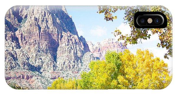 Mountain Fall Delight IPhone Case