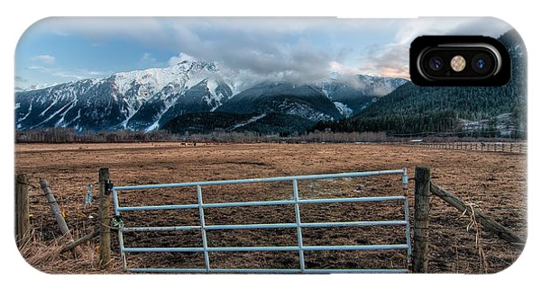 Wheeler Farm iPhone Case - Mountain Farmers by James Wheeler