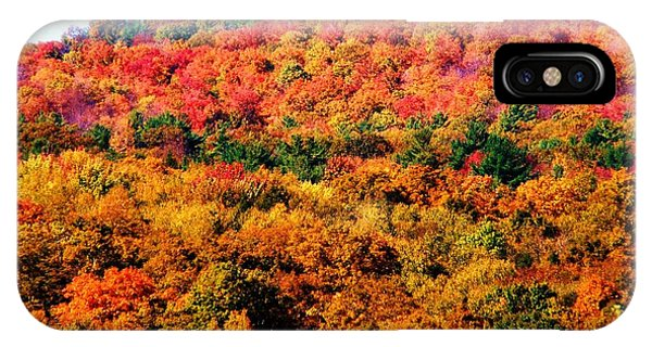 Mountain Foliage Series 015 IPhone Case