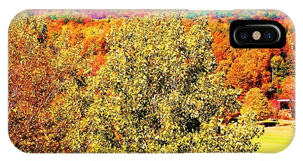 Mountain Foliage Series 017 IPhone Case