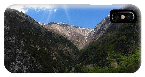 mountain Georgia IPhone Case