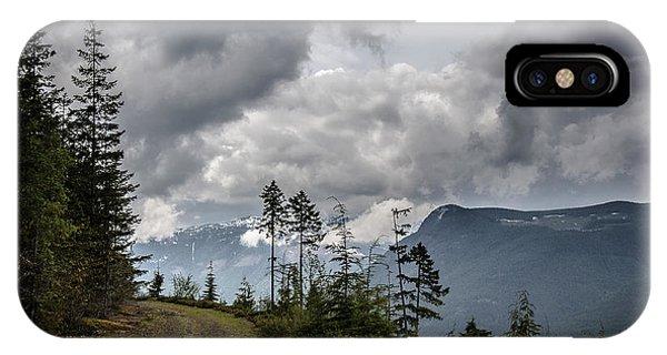 Mountain High Back Roads IPhone Case