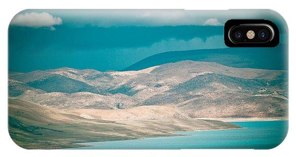 Mountain Lake In Tibet Peiku-tso IPhone Case