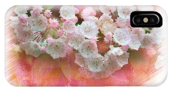 Mountain Laurel Flowers Phone Case by Dan Friend