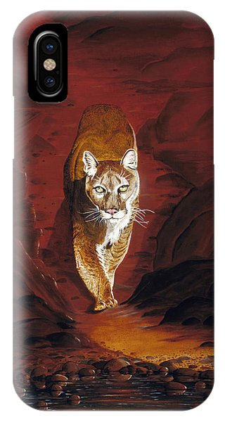 Mountain Lion IPhone Case