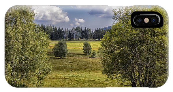 Mountain Meadow IPhone Case