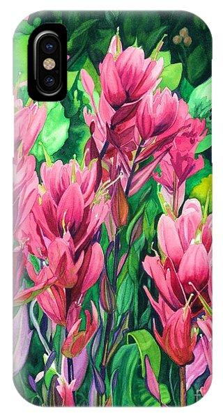 Mountain Meadows' Paintbrush IPhone Case