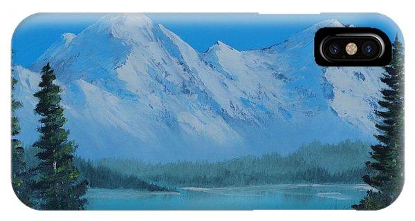 Mountain Outlook IPhone Case