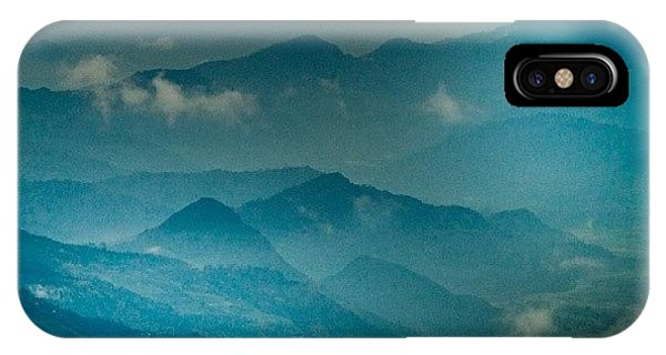 Beautiful Sunrise iPhone Case - Mountain Panoramic by Raimond Klavins