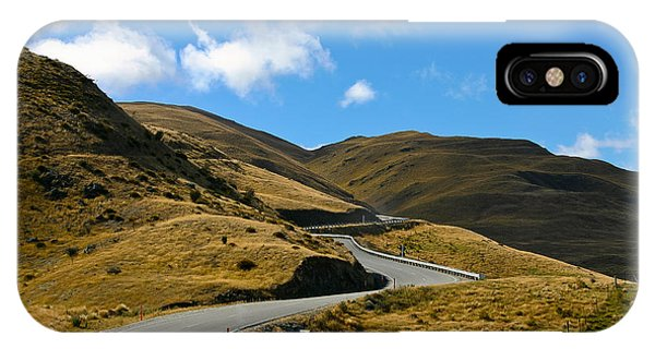 Mountain Pass Road IPhone Case