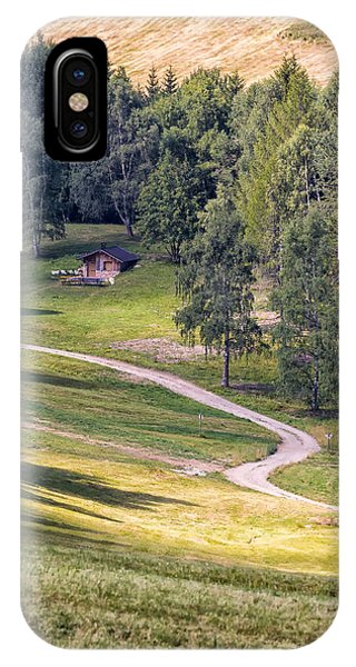 Mountain Pathway. Italy IPhone Case