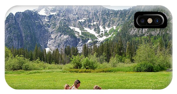 IPhone Case featuring the photograph Mountain Picnic by Kelly Reber
