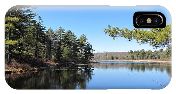 Mountain Pond - Pocono Mountains IPhone Case