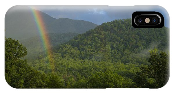Mountain Rainbow 2 IPhone Case
