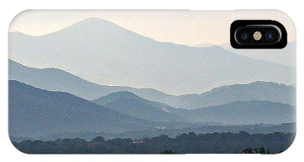 Mountain Range 1 IPhone Case