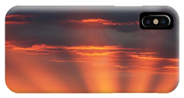 Mountain Rays IPhone Case