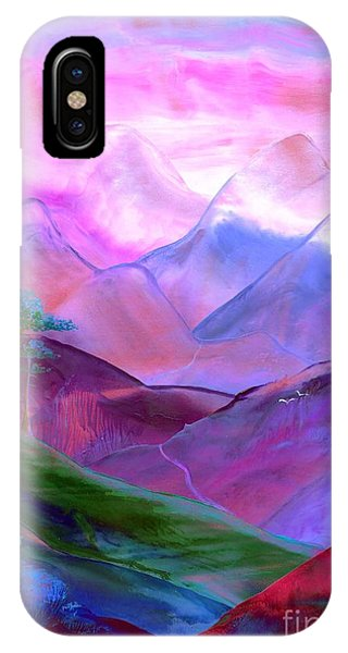 Prayer iPhone Case - Mountain Reverence by Jane Small