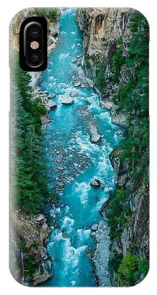 Mountain River Ganga In Valley Himalayas India IPhone Case