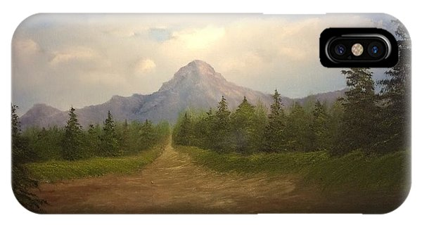 Mountain Run Road  IPhone Case