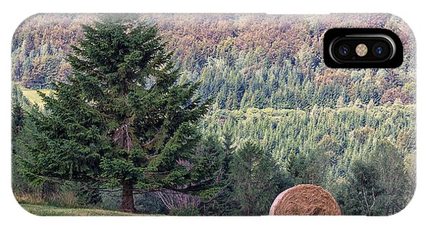 Mountain Sheaf And Tree. Italy IPhone Case