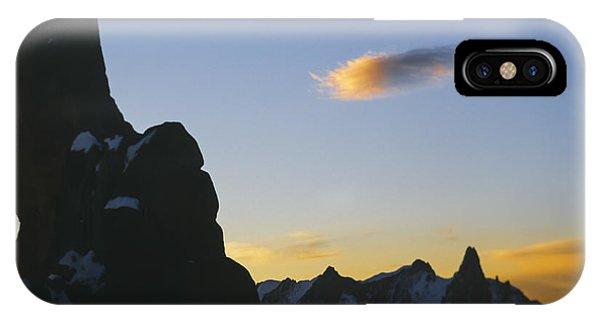 Mountain Sunrise Scenery Phone Case by Soren Egeberg