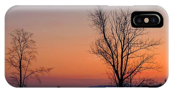 Mountain Sunset 1 IPhone Case