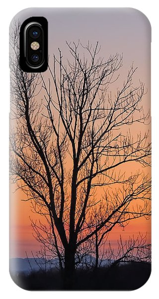 Mountain Sunset 2 IPhone Case