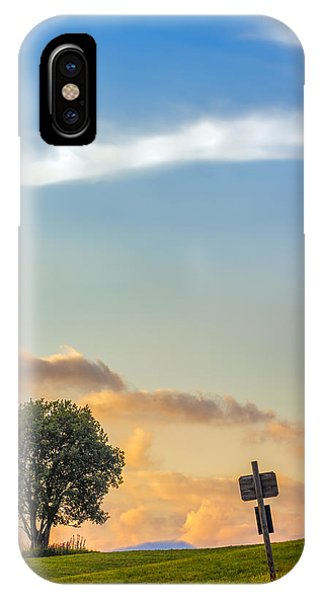Mountain Sunset. Italy IPhone Case