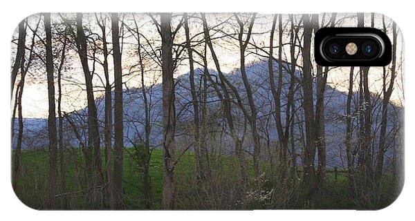 Mountain Sunset Ten IPhone Case