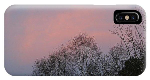 Mountain Sunset Thirteen IPhone Case