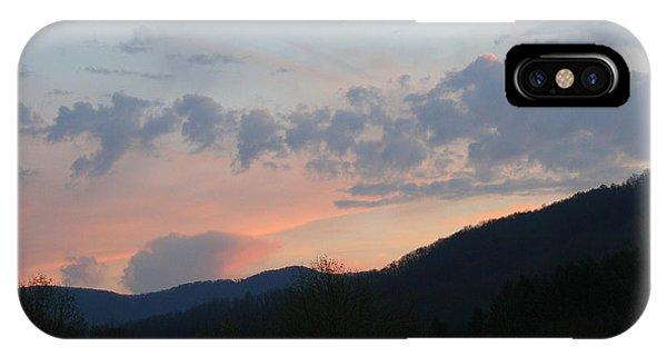Mountain Sunset Twelve IPhone Case