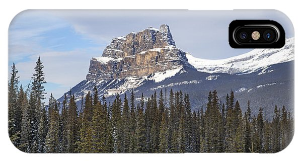 Banff iPhone Case - Mountain View by Evelina Kremsdorf