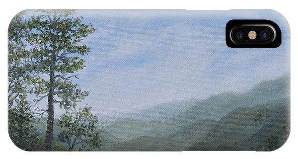 Mountain Vista 1 By K. Mcdermott IPhone Case
