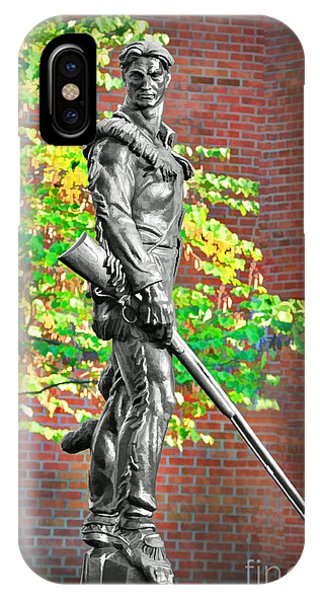 Mountaineer Statue IPhone Case