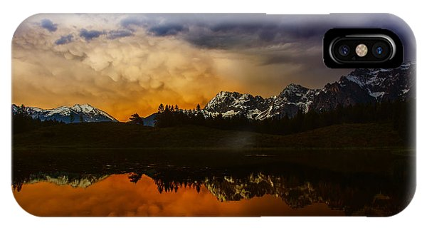 Mountainlake IPhone Case