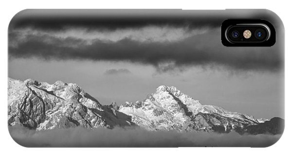 Mountains And Clouds IPhone Case