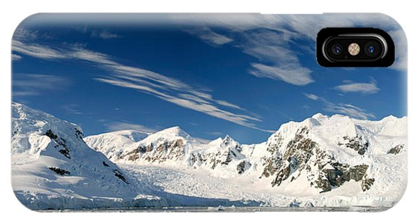 Glacier Bay iPhone Case - Mountains And Glaciers, Paradise Bay by Panoramic Images
