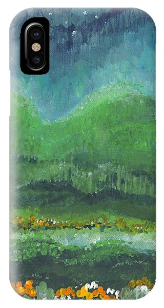 Mountains At Night IPhone Case