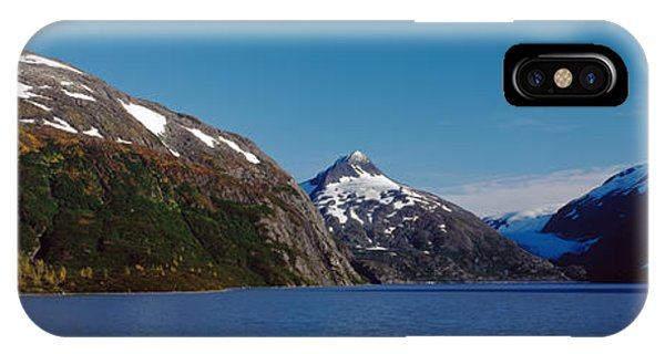 Glacier Bay iPhone Case - Mountains At The Seaside, Chugach by Panoramic Images