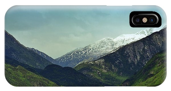 Mountains Beyond Skagway IPhone Case