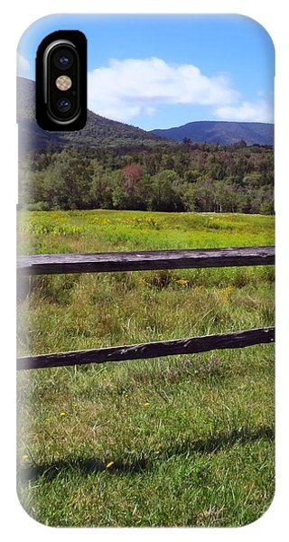Mountains Beyond The Fence IPhone Case