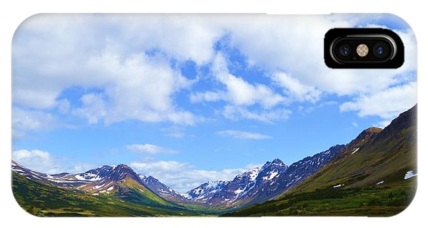 Mountains In Anchorage Alaska IPhone Case