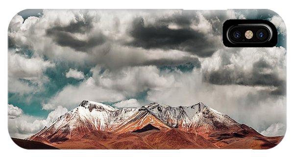South America iPhone Case - Mountains In The Salvador Dali Desert - Bolivia by Hernan Calderon Velasco