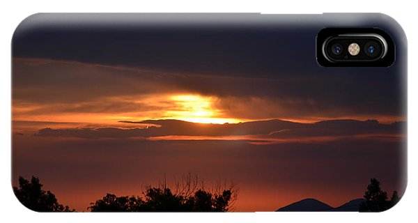 Mountains In The Sky IPhone Case