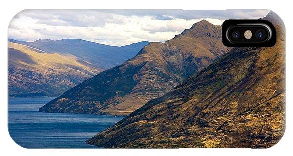 Mountains Meet Lake IPhone Case