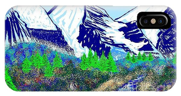 Mountains Msp Phone Case by Dave Atkins