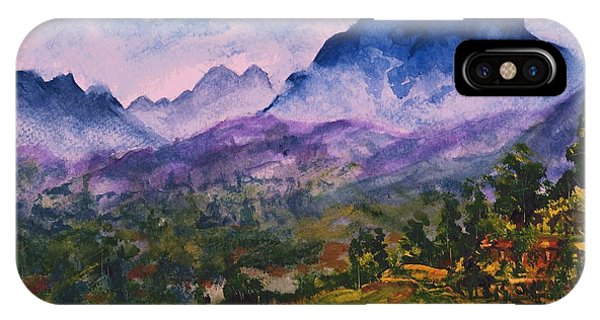 Mountains Of Pyrenees  IPhone Case